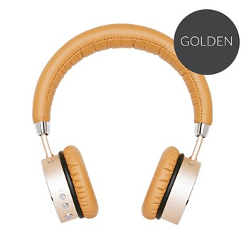SACKit WOOFit headphones - Golden